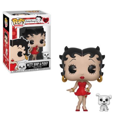 Figurine Funko Pop 421 Betty Boop & Pudgy (Betty Boop)