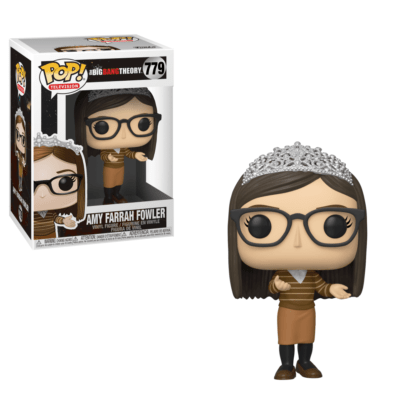Figurine Funko Pop 779 Amy Farrah Fowler (The Big Bang Theory)