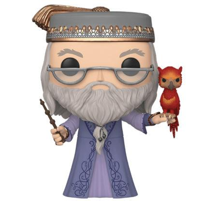Figurine Funko Pop 110 Albus Dumbledore with Fawkes Supersized (Harry Potter)