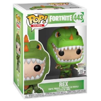 Figurine Funko Pop 443 Rex (Fortnite)