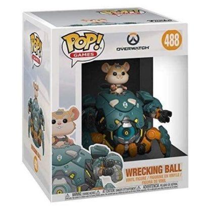 Figurine Pop 488 Wrecking Ball Supersized (Overwatch)
