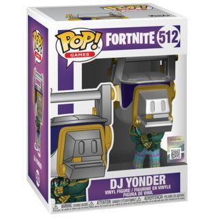 Figurine Funko Pop 512 DJ Yonder (Fortnite)