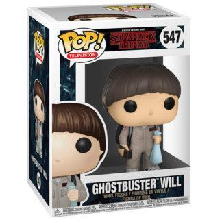 Figurine Funko Pop 547 Ghostbuster Will (Stranger Things)