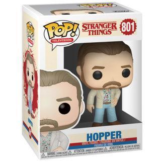 Figurine Funko Pop 801 Hopper (Stranger Things)
