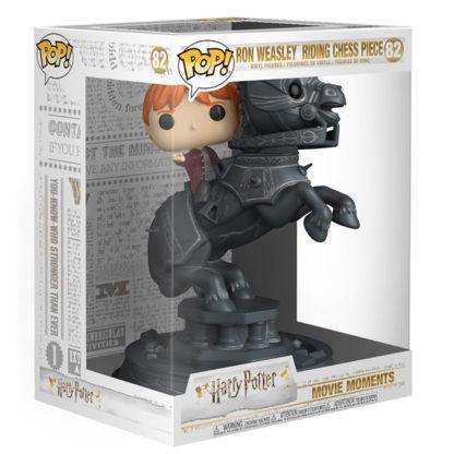 Figurine Funko Pop 82 Ron Weasley Riding Chess Piece (Harry Potter)