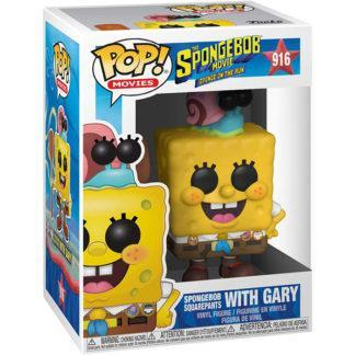 Figurine Funko Pop 916 SpongeBob SquarePants with Gary (Bob L'Éponge)
