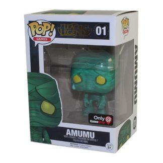 10796 amumu figurine funko pop league of legends