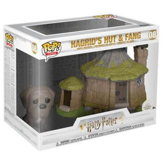 Figurine Funko Pop 08 Hagrid's Hut & Fang (Harry Potter)