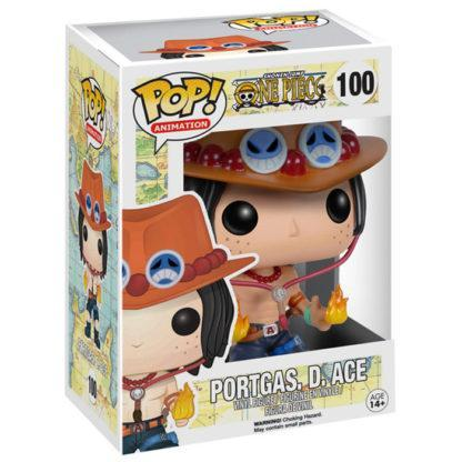 Figurine Funko Pop 100 Portgas D. Ace (One Piece)