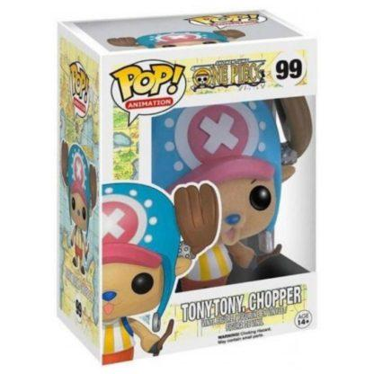 Figurine Funko Pop 99 Tonytony Chopper Flocked (One Piece)
