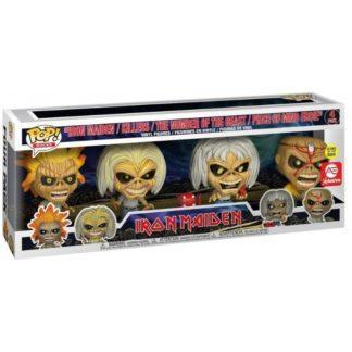 Figurines FunkoPop Iron Maiden Killers The Number of the Beast Piece of Mind Eddie (Iron Maiden)