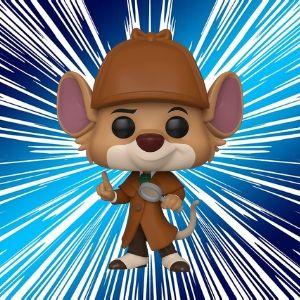 Figurines Pop Basil Détective Privé Disney