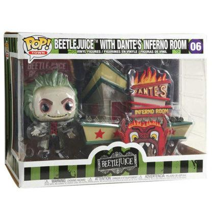 Figurine Funko Pop 06 Beetlejuice with Dante's Inferno Room (Beetlejuice)