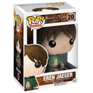 Figurine Funko Pop 20 Eren Jaeger (L'Attaque des Titans)