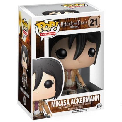 Figurine Funko Pop 21 Mikasa Ackermann (L'Attaque des Titans)