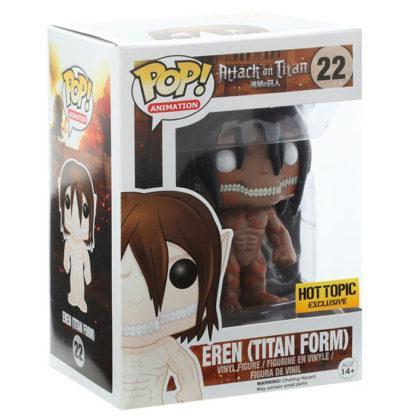 Figurine Funko Pop 22 Eren Titan Form Supersized Chase (L'Attaque des Titans)