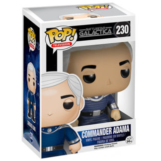 Figurine Funko Pop 230 Commander Adama (Battlestar Galactica)