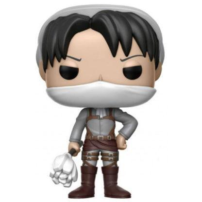 Figurine Funko Pop 239 Cleaning Levi (L'Attaque des Titans)