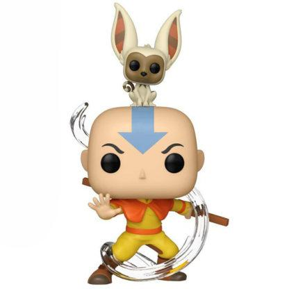 Figurine Funko Pop 534 Aang with Momo (Avatar Le Dernier Maître de l'Air)