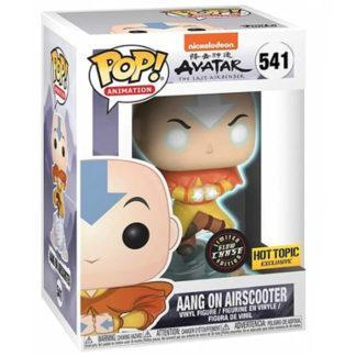 Figurine Funko Pop 541 Aang on Airscooter Glows in the Dark (Avatar Le Dernier Maître de l'Air)