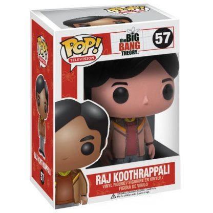 Figurine Funko Pop 57 Raj Koothrappali (The Big Bang Theory)