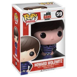 Figurine Funko Pop 59 Howard Wolowitz (The Big Bang Theory)