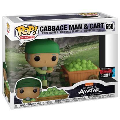 Figurine Funko Pop 656 Cabbage Man & Cart (Avatar Le Dernier Maître de l'Air)
