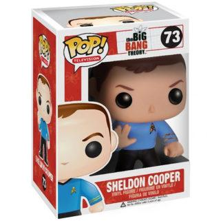 Figurine Funko Pop 73 Sheldon Cooper (The Big Bang Theory)
