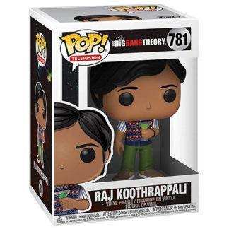 Figurine Funko Pop 781 Raj Koothrappali (The Big Bang Theory)