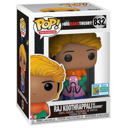 Figurine Funko Pop 832 Raj Koothrappali as Aquaman (The Big Bang Theory)