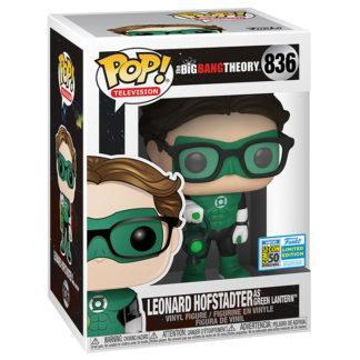 Figurine Funko Pop 836 Leonard Hofstadter as Green Lantern (The Big Bang Theory)