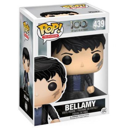 figurine funko pop 439 bellamy the 100
