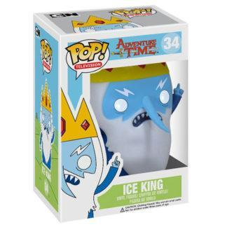 figurine funko pop 34 ice king adventure time