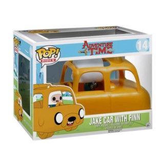 figurine funko pop 14 jake car with finn adventure time