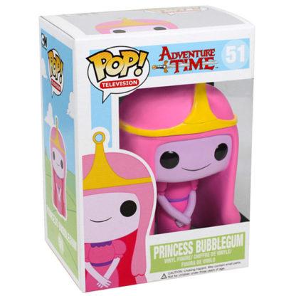 figurine funko pop 51 princess bubblegum adventure time