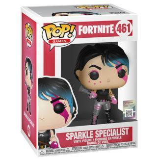 figurine funko pop sparkle specialist fortnite