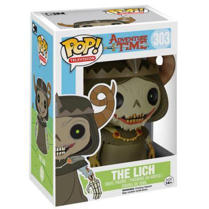 figurine funko pop 303 the lich adventure time