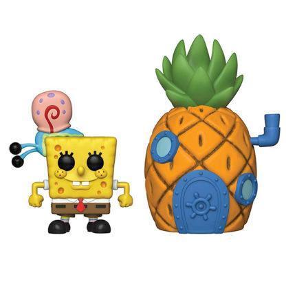Figurine Funko Pop 02 Spongebob With Gary & Pineapple House (Bob L'Éponge)