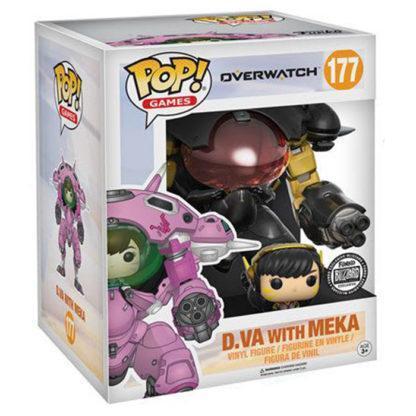 Figurine Funko Pop 177 D.Va with Meka Supersized (Overwatch)