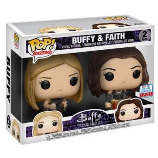 Figurines Funko Pop 2 Pack Buffy & Faith (Buffy Contre les Vampires)
