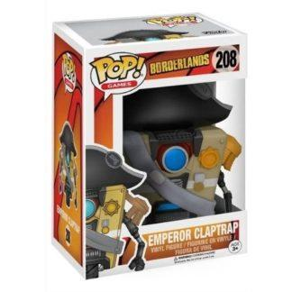 Figurine Funko Pop 208 Emporer Claptrap (Borderlands)