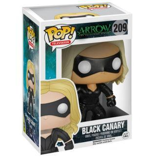 Figurine Funko Pop 209 Black Canary (Arrow)