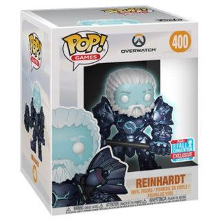 Figurine Funko Pop 400 Reinhardt Glows in the Dark Supersized (Overwatch)
