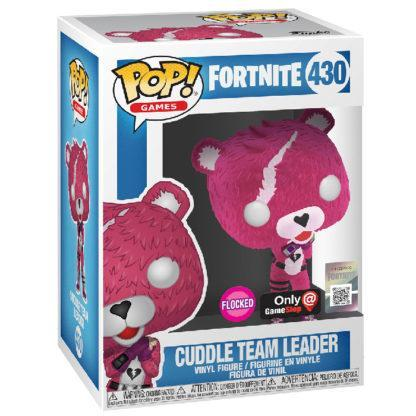 Figurine Funko Pop 430 Cuddle Team Leader Flocked (Fortnite)