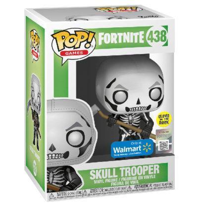 Figurine Funko Pop 438 Skull Trooper Glows In The Dark (Fortnite)