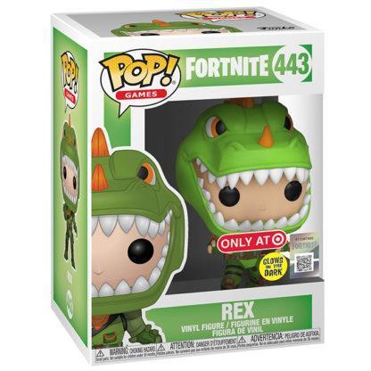 Figurine Funko Pop 443 Rex Glows In The Dark (Fortnite)