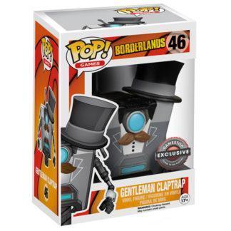 Figurine Funko Pop 46 Gentleman Claptrap (Borderlands)