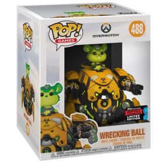 Figurine Funko Pop 488 Wrecking Ball Chase Supersized (Overwatch)
