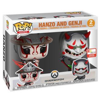 Figurines Funko Pop 2 Pack Hanzo and Genji (Overwatch)