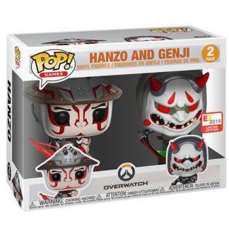 Figurines Funko Pop 2 Pack Hanzo and Genji (Overwatch)